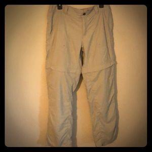 Columbia Titanium Convertible hiking pants/shorts